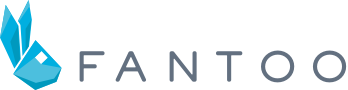 Fantoo logo including the bunny head and company name